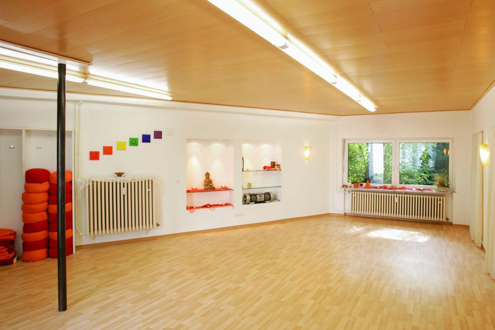 Kursraum für Wellness und Meditation bei Physiotherapie Florian Hagen in Würzburg