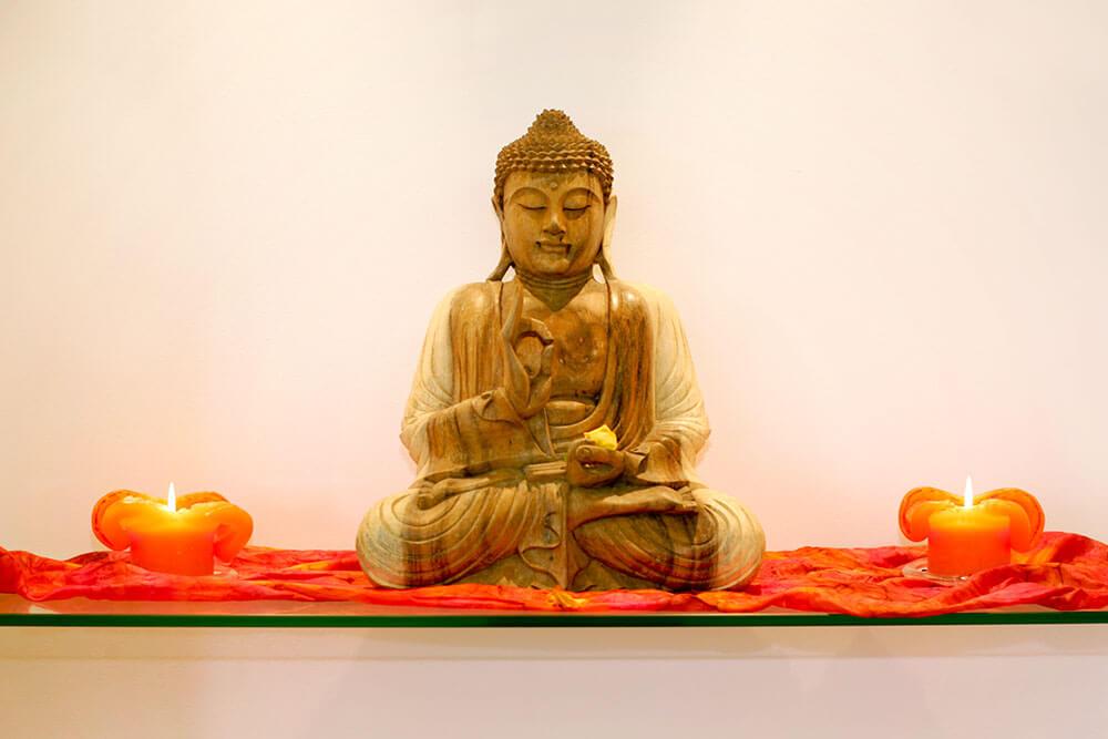 Wellness und Meditation im Kursraum von Florian Hagen Physiotherapie